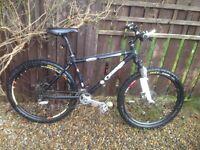 Orange gringo mountain bike 15 inch frame,good all rounder.£220 Ono .
