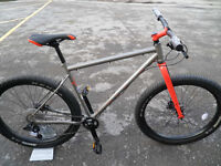 Marin Pine Mountain 1 Brand New Steel Plus Sized Hardtail Limited Edition SizeXL