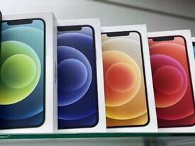iPhone 12 brand new box 64gb one year