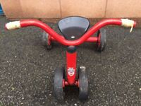 Winther Pushbike for one,for age 1-3