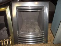 Gas Fire, B&Q EX DISPLAY GAS FIRE, Gas heater steel surround gas fire, other styles available.