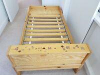 Ikea extending kids bed