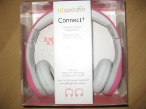 LilGadgets Connect+ Premium Volume Wired Headphones with SharePort for Children. with Mic. Rugged. Comfortable. NEW