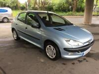 PEUGEOT 206 1.4 AUTOMATIC 2003 LOW MILEAGE 23k FSH
