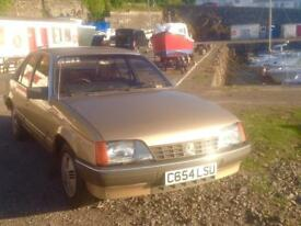 Vauxhall carlton mk1 1.8s GL