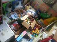 Huge Car Boot Job Lot Mixed Items, Including Toys, Books, Games, Clothing, Ideal for Resale