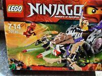 LEGO Ninjago: Anacondrai Crusher (70745) + additional figures