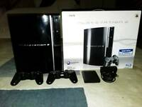Ps3 REBUG firmware with 2 dualshock controllers and 145+games