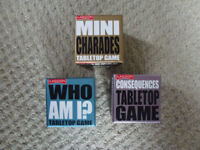 Table Top Games x 3