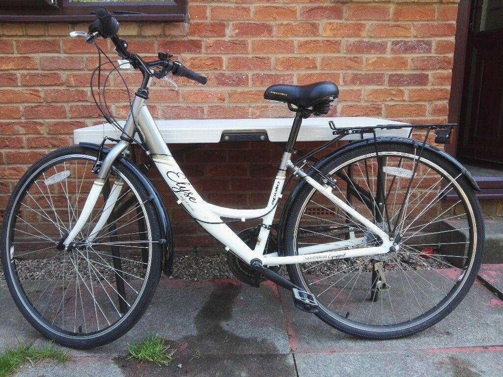 Apollo Elyse Womens Hybrid Bike 16 Quot In Morley West