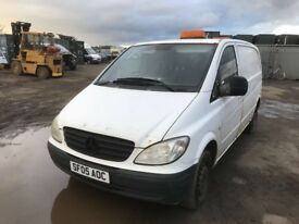 Mercedes Vito van spare parts available
