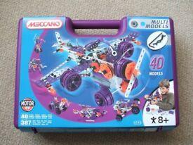 Meccano Multi 40 different model set