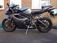 Triumph 675 Motorbike