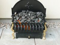 Burley freestanding coalbed basket fire Model224.
