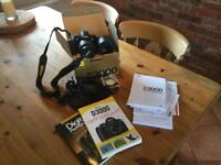 Nikon D3000 with lenses and accessories