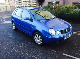 VOLKSWAGEN POLO 1.4 TWIST 2005 ONLY 69000 MILES FULL SERVICE HISTORY