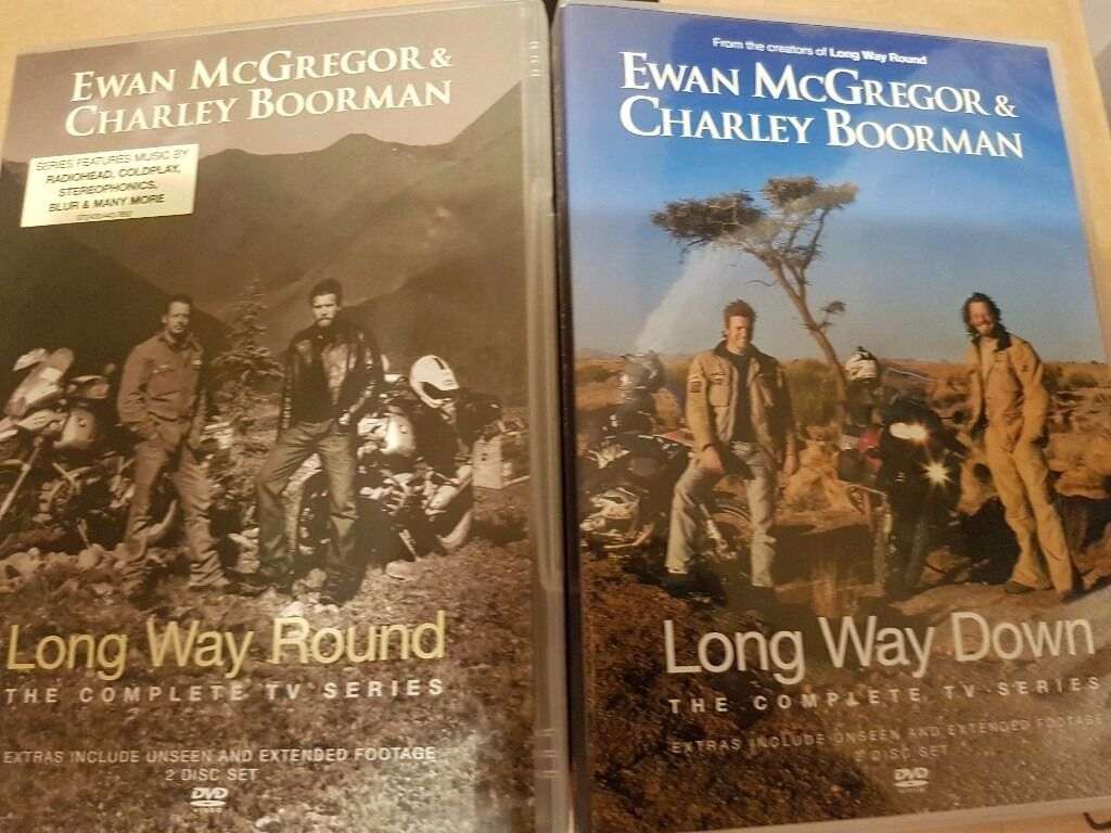 Long Way Round and Long Way Down DVD