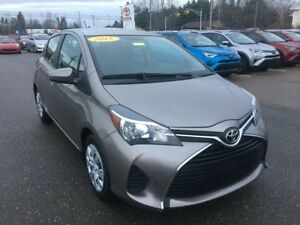 2015 Toyota Yaris Hatchback LOW KMS ONLY $115 BIWEEKLY WITH $0