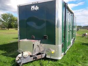 2014 Miska 8.5x22 Cargo Trailer Toy Hauler w/ 3000 Watt Inverter London Ontario image 3
