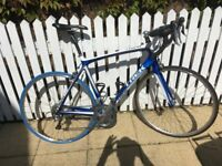 Trek Madone 4.5 Road Bike 56cm Carbon Frame; 105 Triple; new Mavic Open Pro Wheels
