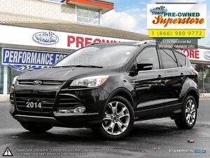 2014 Ford Escape Titanium, leather seats, sunroof,
