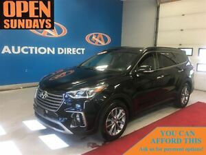 2017 Hyundai Santa Fe XL 7 PASSANGER, AWD, NAVI! LEATHER!