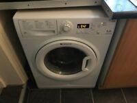 Hotpoint Aquarius WMAQF621P 6Kg Washing Machine with 1200 rpm - White