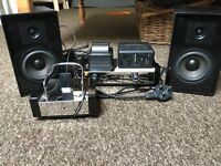 Fatman iTube Amp and Speakers with iPod Docking Station