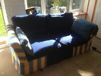 Re covered sofa bed