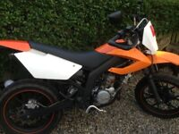 ajs 50cc jsm supermotard supermoto moped learner legal