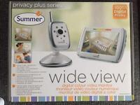 Summer Infant Wide View Digital Video Baby Monitor