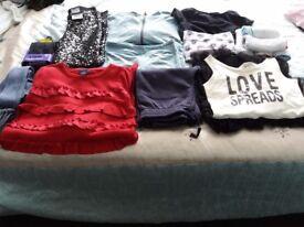 Age 7-8 girls winter clothes bundle