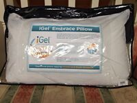 iGel Embrace Temperature Regulation Pillow New Never Used