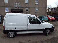 206 berlingo m.o.t'd today 120.k,drives superb clean & tidy £999