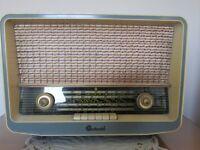 Vintage 1950's Pye Continental Radio Model V.H.F. 2D
