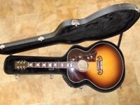 Sigma GJA-SG200 Gloss Vintage Sunburst, with Hardcase. Excellent Condition.