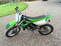 Kx 85, 2006 model, big wheel, great condition, very fast