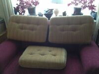 3 Caravan Cushions