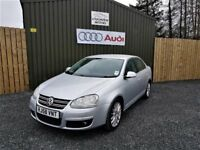 OCTOBER 2008 SILVER VOLKSWAGEN JETTA SPORT, LOW MILES, NEW TIMING BELT, FULL SERVICE HISTORY