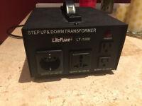 Step Up & Down Voltage Converter Transformer