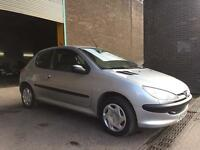 PEUGEOT 206 LOOK FANTASTIC CAR JULY 2017 MOT CAMBELT CHANGE