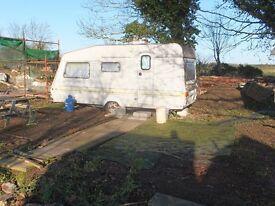 Small caravan in quiet rural location near Evesham