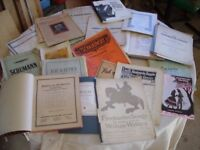 vintage notes, musical notation, a notation for music, old musical pages musical score, music sheets