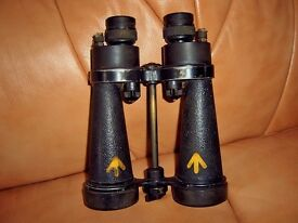 WW2 Royal Navy Binoculars by Barr & Stroud of London.....