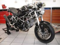 DUCATI CAFERACER SPECIAL WELL WORTH A LOOK