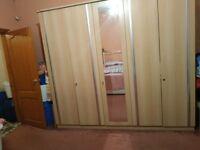 5 door bedroom wardrobe