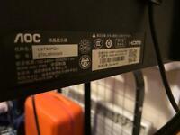 AOC U2790PQU 4K 27 inch monitor
