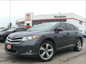 2015 Toyota Venza XLE AWD V6 w/ Leather, Navi, Moonroof