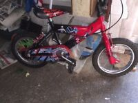 Power ranger Child's kids bike cycle