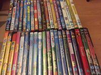Children's s dvds £1-2 each